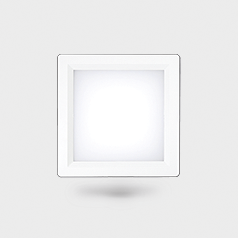 Downlight LED Comfort Cuadrada 2x26/3x26 ::LEDISSON